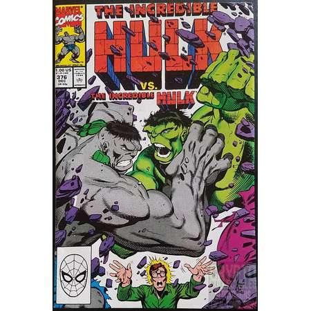 The Incredible Hulk #376 (1990) Comic Book thumb