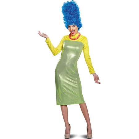 The Simpsons Marge Deluxe Adult Halloween Costume thumb