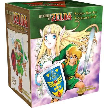 Legend of Zelda: The Legend of Zelda Box Set (Paperback) thumb