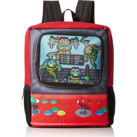 Teenage Mutant Ninja Turtles Boys' Arcade Game 16 Inch Backpack thumb