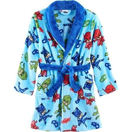 7774862f11 PJ Masks Toddler Boys  Catboy Owlette Gekko Plush Robe (2T) thumb
