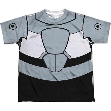 Teen Titans Go Men's  Cyborg Uniform Sublimation T-shirt White thumb