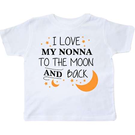 I Love My Nonna To The Moon and Back Toddler T-Shirt thumb