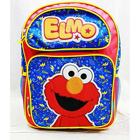 Backpack - Sesame Street - Elmo Red Large School Bag New ss20500 thumb