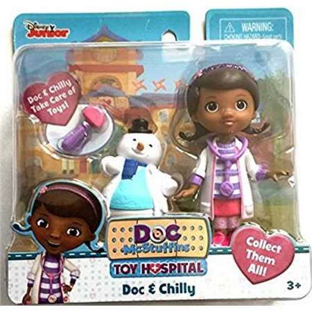 Doc McStuffins Disney Jr Toy Hospital Doc and Chilly Playset thumb