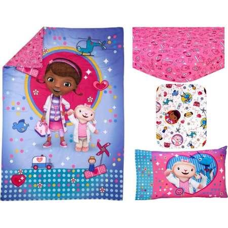Disney Doc McStuffins Toy Doc 4-Piece Toddler Bedding Set thumb