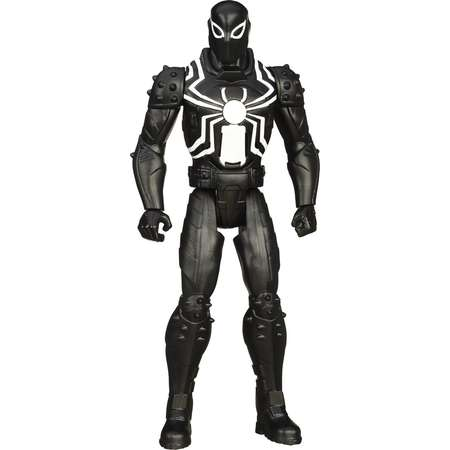 Ultimate Spider-Man Web Warriors Titan Hero Quick-Talking Agent Venom thumb