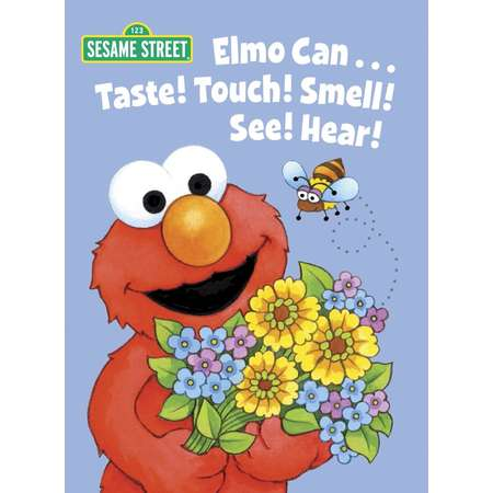 Big Bird's Favorites Board Books: Elmo Can... Taste! Touch! Smell! See! Hear! (Sesame Street) (Board Book) thumb