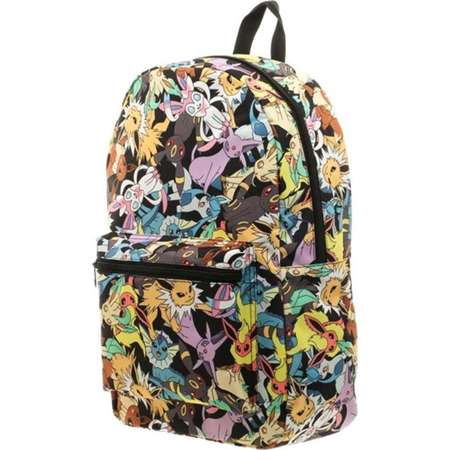 Pokemon Eevee Evolution Sublimated Backpack thumb
