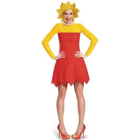 The Simpsons Lisa Deluxe Women's Adult Halloween Costume thumb