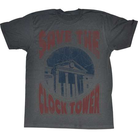 American Classics Back To The Future  Saves The Day T Shirt thumb
