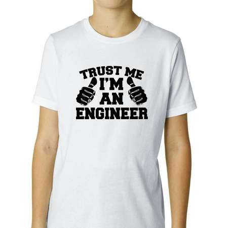 Trust Me I'm  An Engineer - This Guy Boy's Cotton Youth T-Shirt thumb