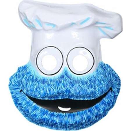 Childs Sesame Street Cookie Monster PVC Mask thumb