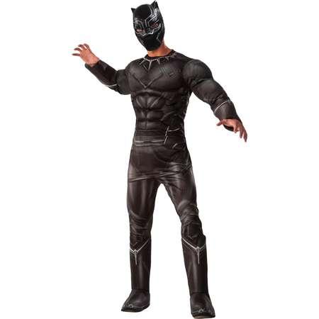 Marvel's Captain America: Civil War Deluxe Mens Black Panther Costume thumb