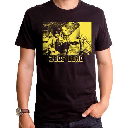 Pulp Fiction Zed's Dead Yellow Men's Black short sleeve Men's Crew thumb