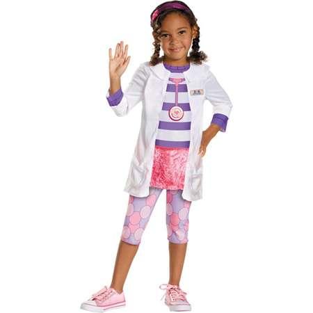 Disguise Girl'S Disney Doc Mcstuffins Classic Costume 3T 4T thumb