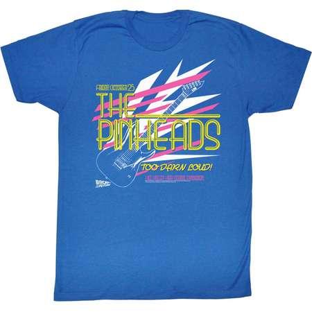 Back To The Future Movie Pinhead Adult T-Shirt Tee thumb