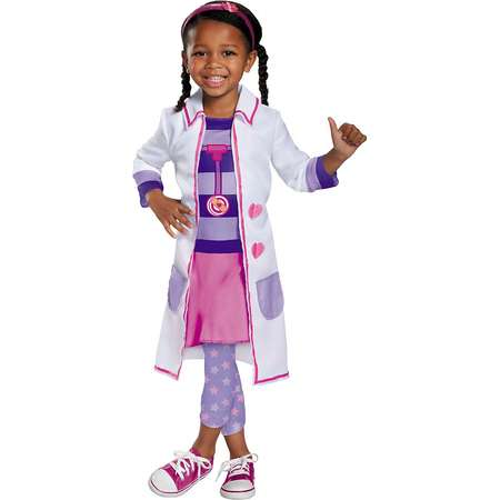 Doc McStuffins Toy Hospital Classic Toddler Costume - Toddler Small thumb