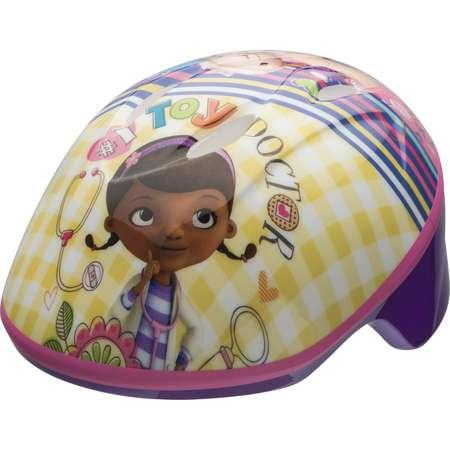 Bell Sports Doc McStuffins Toddler Bike Helmet, Purple /Pink thumb