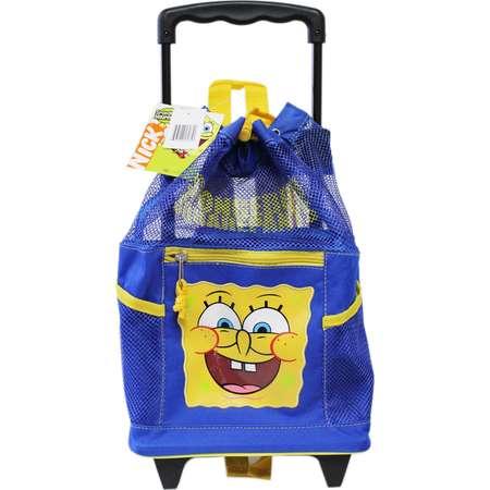 a48b50e83b Spongebob Squarepants Toddler Size Mesh Rolling Backpack (12in) thumb