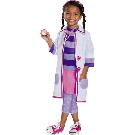 Doc McStuffins Toy Hospital Deluxe Toddler Costume - Toddler Medium thumb