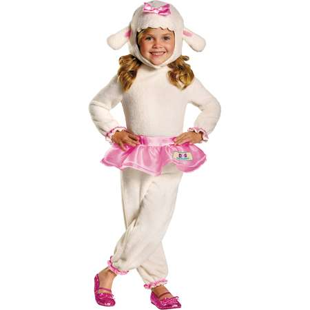 Lambie Doc McStuffins Girls Child Halloween Costume thumb