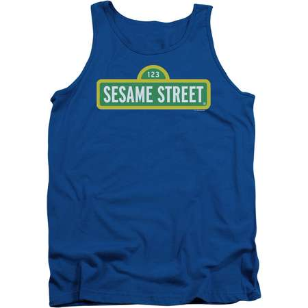 Sesame Street Logo Mens Tank Top Shirt thumb