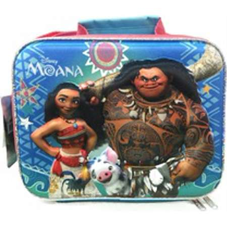 Moana 3D Rectangular Cross Body Insulated Lunch Box Lunch Bag thumb