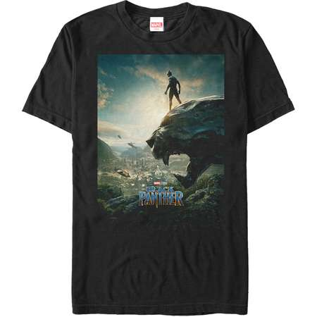 Marvel Men's Black Panther 2018 Epic View T-Shirt thumb