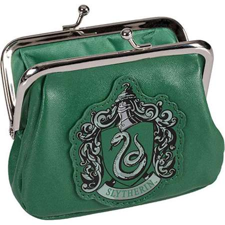 Universal Studios Harry Potter Crest Slytherin Coin Purse New With Tags thumb