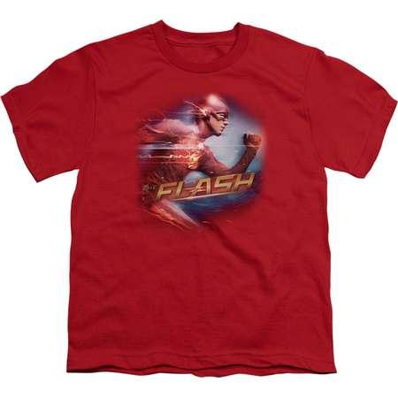 The Flash Fastest Man Big Boys Youth Shirt thumb