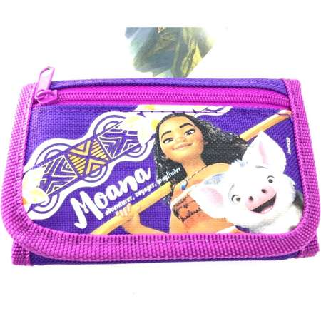 Party Favors Disney Moana Wallet-Passport Bag- String Sling Tote Bag Backpack (WALLET PURPLE)… thumb