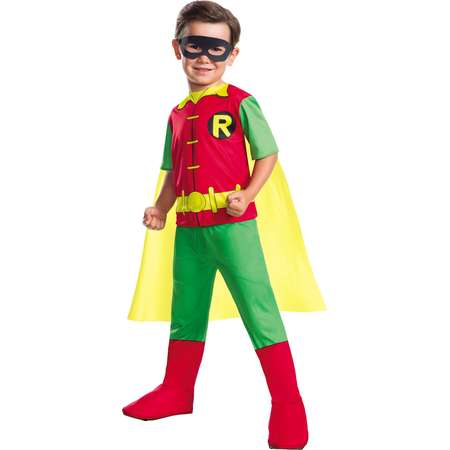 Dc Comics Boys Robin Boy Wonder Teen Titans Childs Halloween Costume thumb