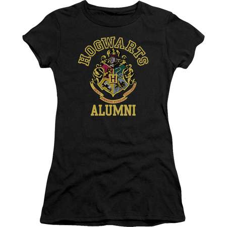 Harry Potter Hogwarts Alumni Juniors Short Sleeve Shirt thumb