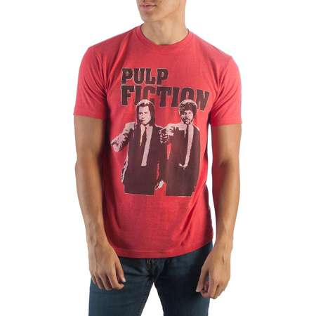 Pulp Fiction Red Heather T-Shirt -Small thumb
