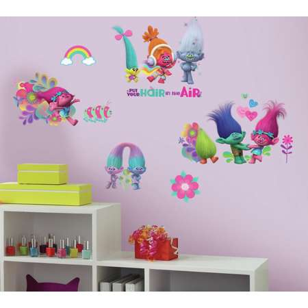 Trolls Movie Peel and Stick Wall Decals thumb