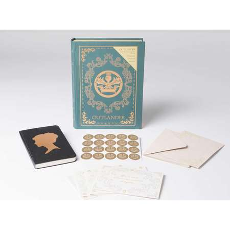 Outlander: Deluxe Note Card Set (with Keepsake Book Box) (Hardcover) thumb