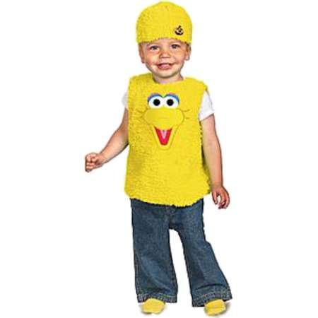 Sesame Street Infant Boys & Girls Plush Yellow Big Bird Costume 12-18 Months thumb