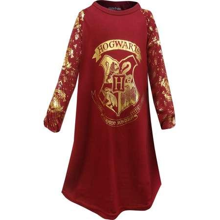 Harry Potter Hogwarts Crest Girls Nightgown thumb