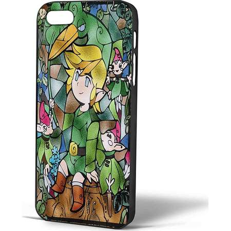 Ganma The Legend of Zelda the Minish Cap Stainned Glass Case For iPhone Case (Case For iPhone 6 Plus White) thumb