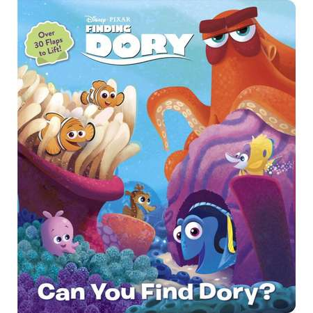 Lift-The-Flap: Can You Find Dory? (Disney/Pixar Finding Dory) (Board Book) thumb