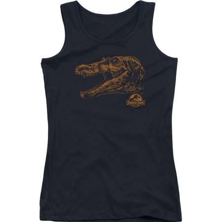 Jurassic Park Dinosaur Action Movie Spielberg Spino Mount Juniors Tank Top Shirt thumb