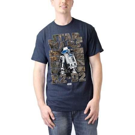 Star wars r2d2 realtree Men's graphic tee shirt thumb