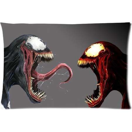 DEYOU Venom Spider Man Carnage Pillowcase Pillow Case Cover Two Sides Printing Size 20x30 inch thumb