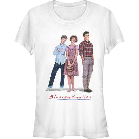 Sixteen Candles Juniors' Classic Movie Poster T-Shirt thumb