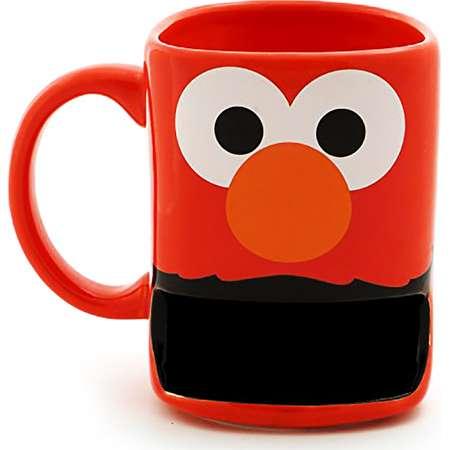 Sesame Street 10oz Stoneware Mug with Cookie Slot, Elmo thumb