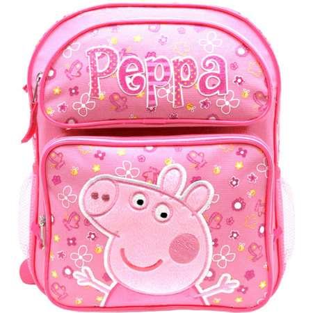 61b165278b9d Medium Backpack - Peppa Pig - Pink Flowers 14