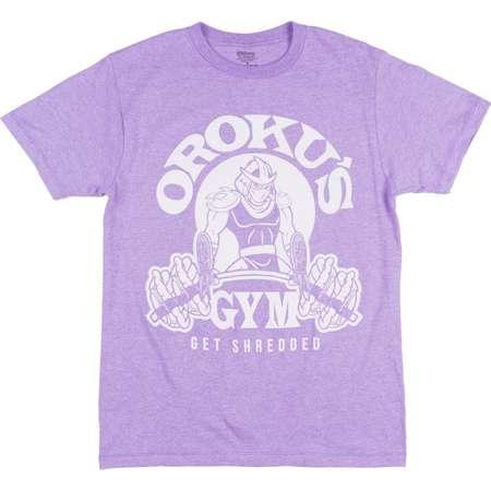 Teenage Mutant Ninja Turtles Orokus Gym T-Shirt Purple Mens thumb