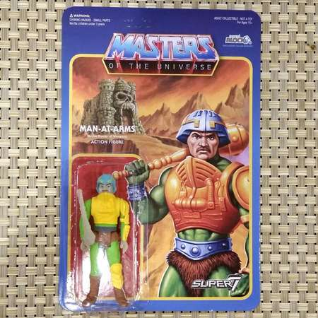 Masters of the Universe Man-At-Arms by Super7 Glow in the Dark thumb