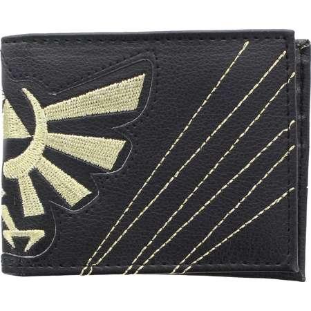Legend Of Zelda Embossed Hylian Crest Bi-Fold Wallet thumb